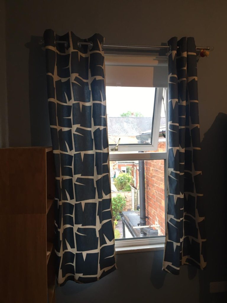 curtains made by me