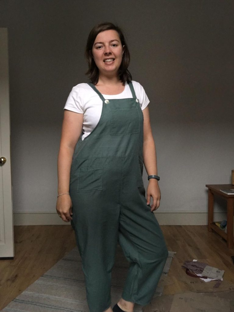 sewing project 4 - dungarees